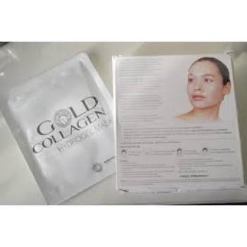 Gold Collagen Hydrogel Mask 4 τεμάχια x 30 gr (Ενυδατική Μάσκα Υδρογέλης) Πρόσωπο