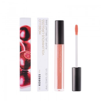 Korres Morello Voluminous Lipgloss 12 Candy Pink 4 ml
