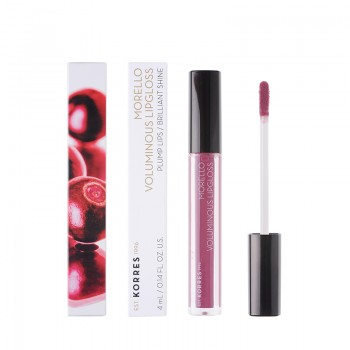 Korres Morello Voluminous Lipgloss 27 Berry Purple 4 ml