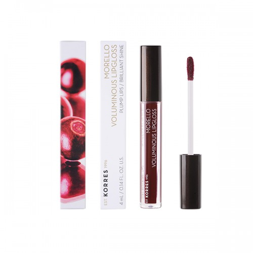 Korres Morello Voluminous Lipgloss 58 Bloody Cherry 4 ml