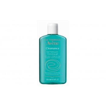 Avene Cleanance Gel Nettoyant Καθαρισμός Προσώπου 200 ml