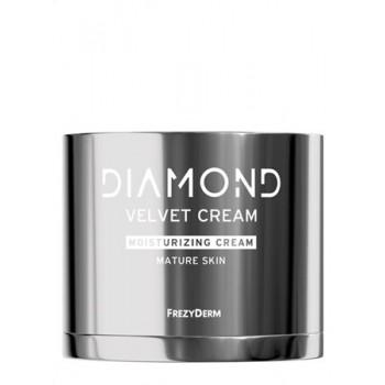 Frezyderm Diamond Velvet Moisturizing Cream Ενυδατική Κρέμα Προσώπου για Ώριμο Δέρμα 50 ml