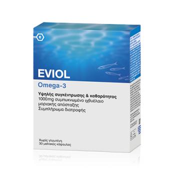 EVIOL Omega-3 30 caps