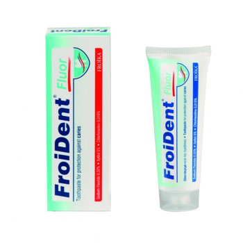 FroiDent Fluor Oδοντόπαστα 75 ml Στοματική Υγιεινή