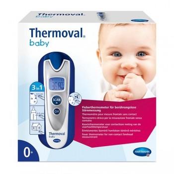 Hartmann Thermoval Baby Θερμόμετρο Πυρετού για Ανέπαφη Θερμομέτρηση από το Μέτωπο