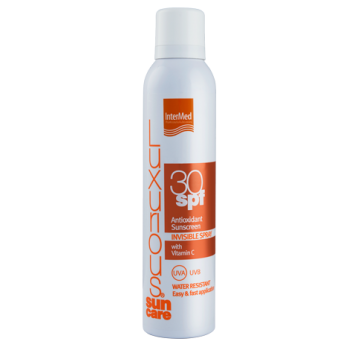 Intermed Luxurious Suncare Antioxidant Sunscreen Invisible Spray SPF 30 Διάφανο Αντιηλιακό Σπρέυ 200 ml