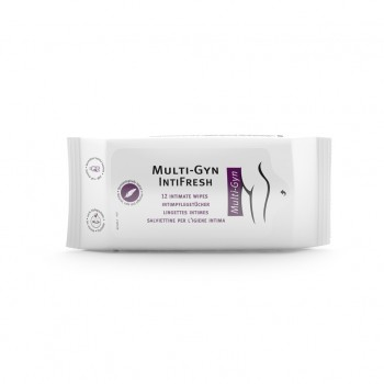 Multi-Gyn IntiFresh Wipes x 12 Μαντηλάκια