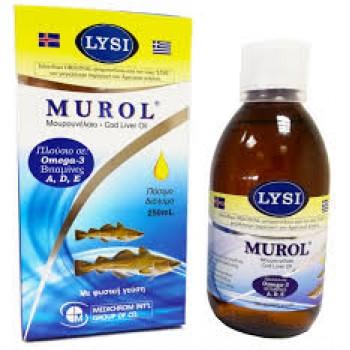 Murol Medichrom Πόσιμο Μουρουνέλαιο 250 ml