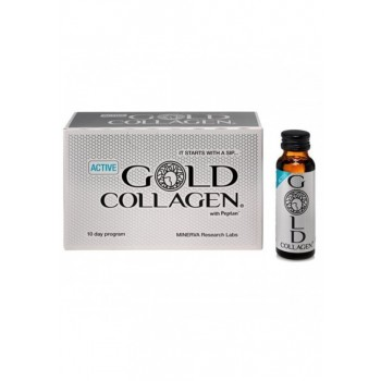 Gold Collagen Active 10 x 50 ml Minerva