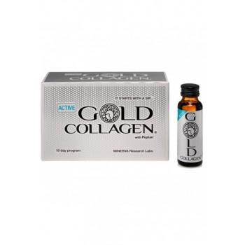 Gold Collagen Active 10 x 50 ml Minerva