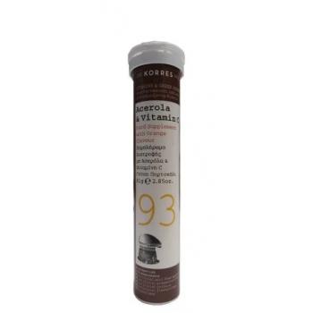 Korres Acerola & Vitamin C 18 Αναβράζοντα Δισκία