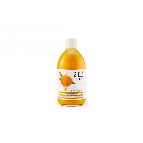AgPharm Κουρκουμάς Πόσιμο Διάλυμα 500 ml