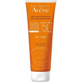 Avene Eau Thermale Lait SPF50+ Αντιηλιακό Γαλάκτωμα Σώματος για το Ευαίσθητο Δέρμα 250 ml