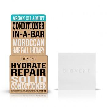 Biovène Argan Oil & Mint Hydrate Repair Solid Conditioner 40 gr