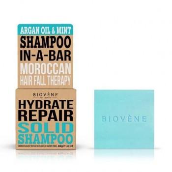 Biovène Argan Oil & Mint Hydrate Repair Solid Shampoo 40 gr