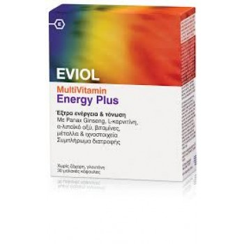 Eviol Multivitamin Energy Plus 30 caps Gap