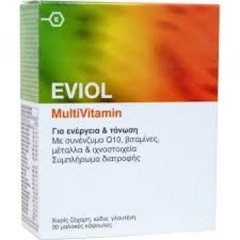 Eviol Multivitamin 30 caps GAP Πολυβιταμίνες συμπλήρωμα διατροφής