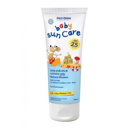 Frezyderm Baby Sun Care SPF 25+ Βρεφικό Αντιηλιακό με Φυσικά Φίλτρα 100 ml