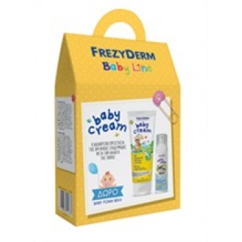 Frezyderm Baby Cream 175 ml + Frezyderm Baby Foam 80 ml Δώρο