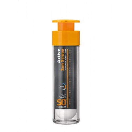 Frezyderm Active Sun Screen Αντιηλιακή Κρέμα Προσώπου SPF 50+ 50 ml