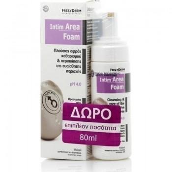 Frezyderm Intim Area Foam pH 4.0 150 ml + 80 ml Δώρο
