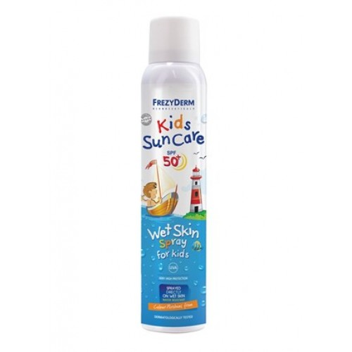 Frezyderm Kids Sun Care SPF 50+ Wet Skin Spray Παιδικό Αντιηλιακό Σπρέι 200 ml