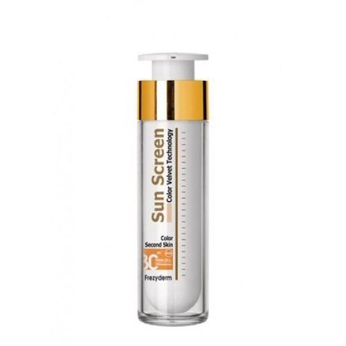 Frezyderm Sun Screen Color Velvet Face Cream SPF 30+ Aντιηλιακή Κρέμα Προσώπου Με Χρώμα 50ml