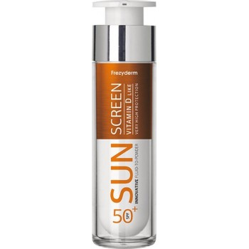 Frezyderm Sun Screen Vitamin D-Like Fluid to Powder SPF50+ Αντηλιακή Κρέμα Προσώπου 50 ml