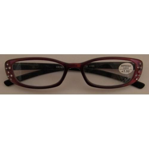 Γυαλιά Πρεσβυωπίας Γυναικεία Κόκκινα με Πέρλες