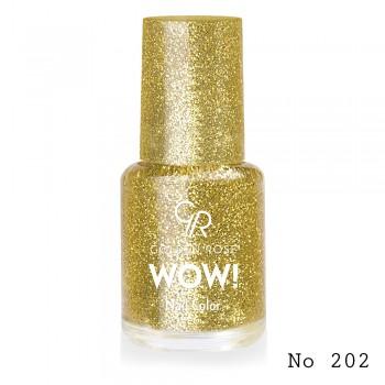 Golden Rose Wow! 202 Βερνίκι Νυχιών 6 ml