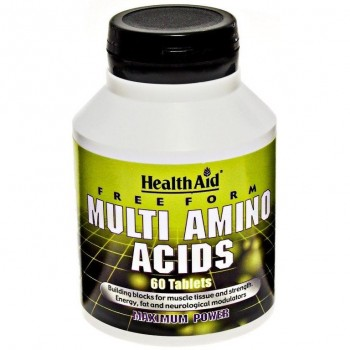 Health Aid Μulti Amino Acids Free Form 60 tabs