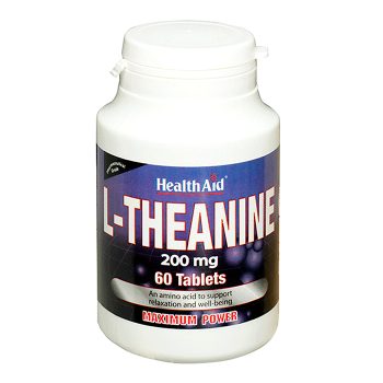 HealthAid L-Theanine 200mg 60 tabs