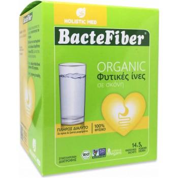 Holistic Med Bactefiber Organic Φυτικές Ίνες σε Σκόνη x 14 Sachets