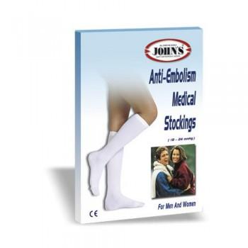 Κάλτσες Αντιεμβολικές 18-24 mmHg Ριζομηρίου Σιλικόνης JOHN'S (Ζεύγος)
