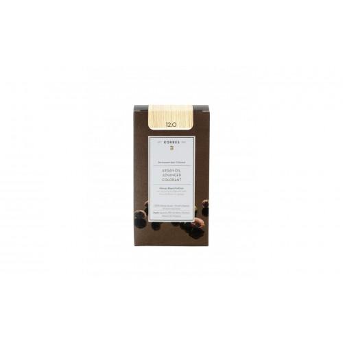 Korres Argan Oil Μόνιμη Βαφή Μαλλιών 12.0 Ξανθό/Special Blonde 50 ml