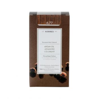 Korres Argan Oil Μόνιμη Βαφή Μαλλιών 6.77 Πραλίνα 50 ml