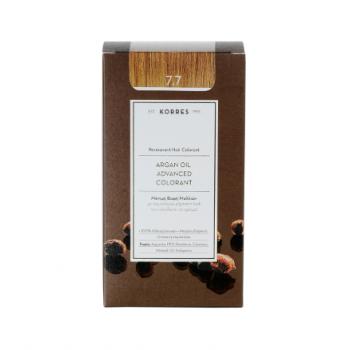 Korres Argan Oil Μόνιμη Βαφή Μαλλιών 7.7 Μόκα 50 ml