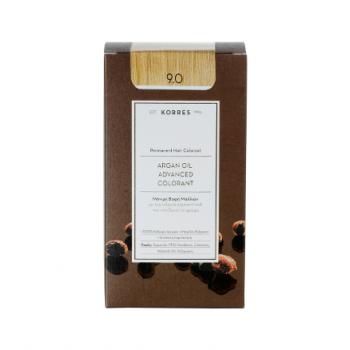 Korres Argan Oil Μόνιμη Βαφή Μαλλιών 9.0 Ξανθό Πολύ Ανοικτό 50 ml