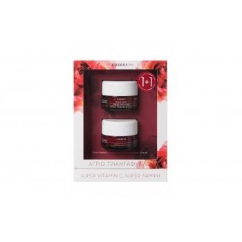 Korres Άγριο Τριαντάφυλλο Κρέμα Ημέρας για Κανονικές / Μικτές Επιδερμίδες 40 ml + Korres Άγριο Τριαντάφυλλο Κρέμα Νύκτας 40 ml