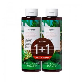 Korres Ανανάς Καρύδα Αφρόλουτρο 1+1 Δώρο 2x250 ml