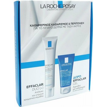 La Roche Posay Effaclar Duo[+] 40 ml + La Roche Posay Effaclar Gel Moussant 50 ml Promo Pack