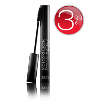 Rougj+ Mascara Black Extra Volume
