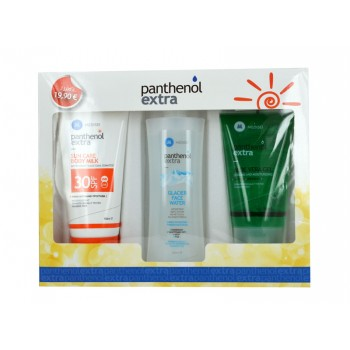 Medisei Panthenol Extra Sun Body Milk Spf 30 150ml+ Glacier Face Water 250ml+ Aloe Vera Gel 150ml