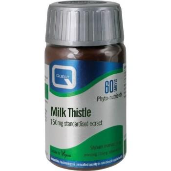 Quest Milk Thistle Γαϊδουράγκαθo) 150 mg 60 tabs