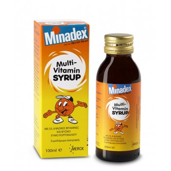 Seven Seas Minadex Multivitamin Syrup 100 ml