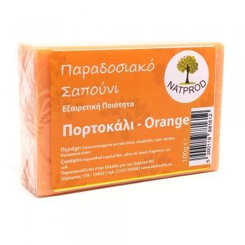 Natprod Παραδοσιακό Σαπούνι Πορτοκάλι 100 gr