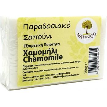Natprod Παραδοσιακό Σαπούνι Χαμομήλι 100 gr