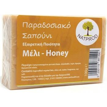 Natprod Παραδοσιακό Σαπούνι Μέλι 100 gr