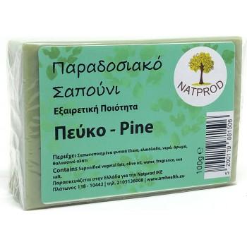 Natprod Παραδοσιακό Σαπούνι Πεύκο 100 gr