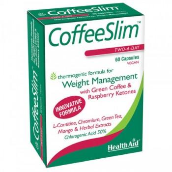 Health Aid Coffee Slim 60 tab Συμπληρώματα Διατροφής - Βιταμίνες